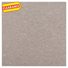 Clearance! Imperial Texture Earthstone Greige Vinyl Composition Tile (VCT) 51804