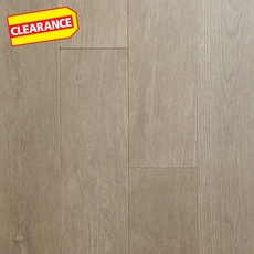 Clearance! Graphite Oak Wire Brushed Solid Hardwood
