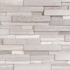 White Honed Marble Panel Ledger
