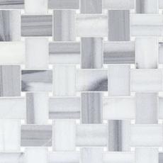 Tile Shop Richmond Va >> Skyfall Basketweave Maze Marble Mosaic - 12in. x 12in ...