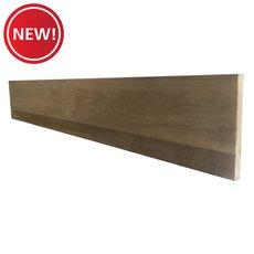 New! Pre-Primed Oak Veneer Back Riser