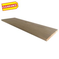 Clearance! Oak Solid Stair Tread