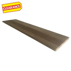 Clearance! Oak Solid Stair Tread - 48 in.