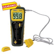 Clearance! General Tools Moisture Meter with Probe