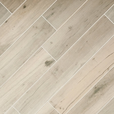 Birch Forest Gray Wood Plank Porcelain Tile 6 X 36