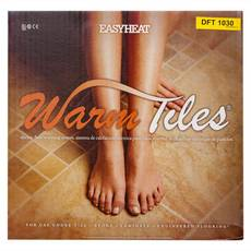 EasyHeat Warm Tiles Floor Warming 120 Volt Yellow Cable Kit 121ft.