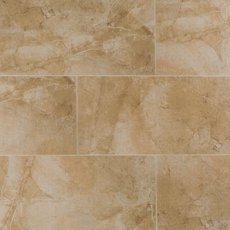 Majestic Beige White Body Ceramic Tile 12in X 24in