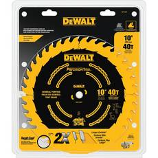 DeWalt 10in. 40 Tooth Precision Trim Blade