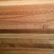 Red Oak Butcher Block Backsplash 12ft.