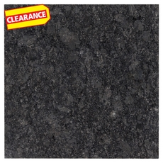Clearance! Midnight Gray Polished Granite Tile