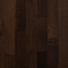 Cocoa Brown Maple Hand Scraped Engineered Hardwood
