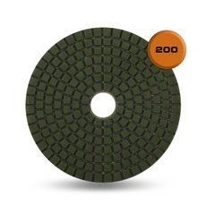 Rubi Wet Resin 200 Grit Polishing Pad