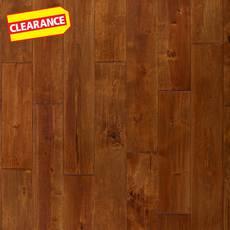 Clearance! Wheat Birch Hand Scraped Solid Hardwood
