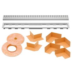 Schluter Kerdi-Line 3/4in. Frame 60in. Perforated Grate