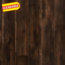 Clearance! Coffee Maple Embossed in Register Laminate