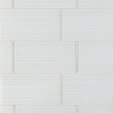 Dream Crystal White Ice Glass Tile