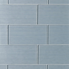 Dream Icelandic Blue Ice Glass Tile