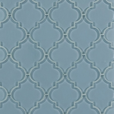 Fleur Spa Arabesque Glass Mosaic