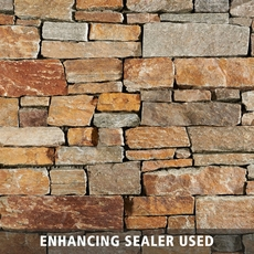 Himalaya Stack Quartzite Panel Ledger