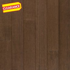 Clearance! Contempo Gray Stranded Locking Engineered Bamboo