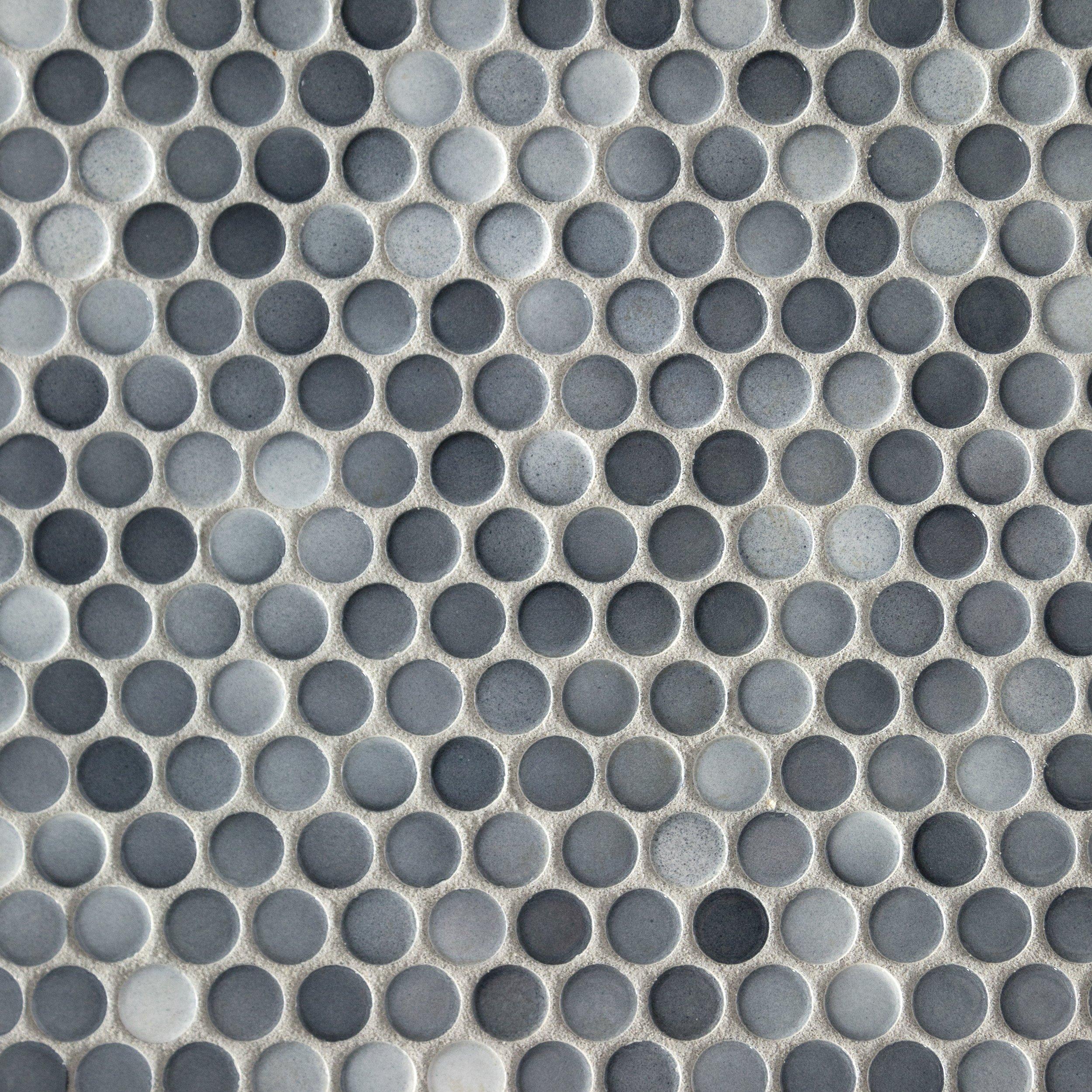 Penny Mosaics Floor Amp Decor
