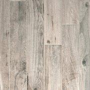 Soft Greige Wood Plank Porcelain Tile