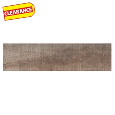 Clearance! Autumn Roble Wood Plank Ceramic Tile