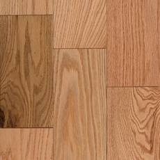 Natural Red Oak Smooth Solid Hardwood
