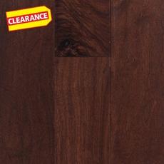 Clearance! Tuscan Walnut Hand Scraped Engineered Hardwood