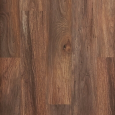 NuCore Smoked Walnut Wide Hand Scraped Plank with Cork Back
