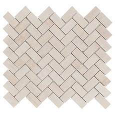 Herringbone Travertine Mosaic