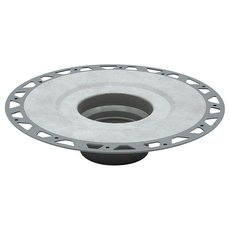 Kerdi-Drain Flange PVC 2in. Outlet Without Seals and Corners