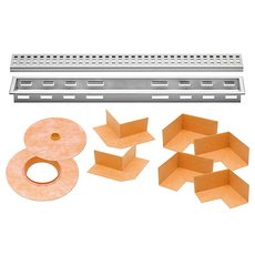 Schluter Kerdi-Line 1-1/8in. Frame 20in. Perforated Grate