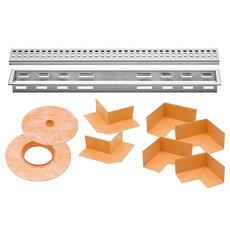 Schluter Kerdi-Line 1-1/8in. Frame 36in. Perforated Grate