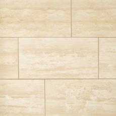 Ivory Vein Cut Honed Travertine Tile Floor And Decor