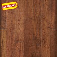 Clearance! Gold Curitiba Hickory Hand Scraped Engineered Hardwood