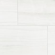 Impress White Polished Porcelain Tile