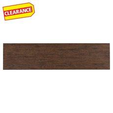 Clearance! Providence Dark Brown Wood Plank Porcelain Tile