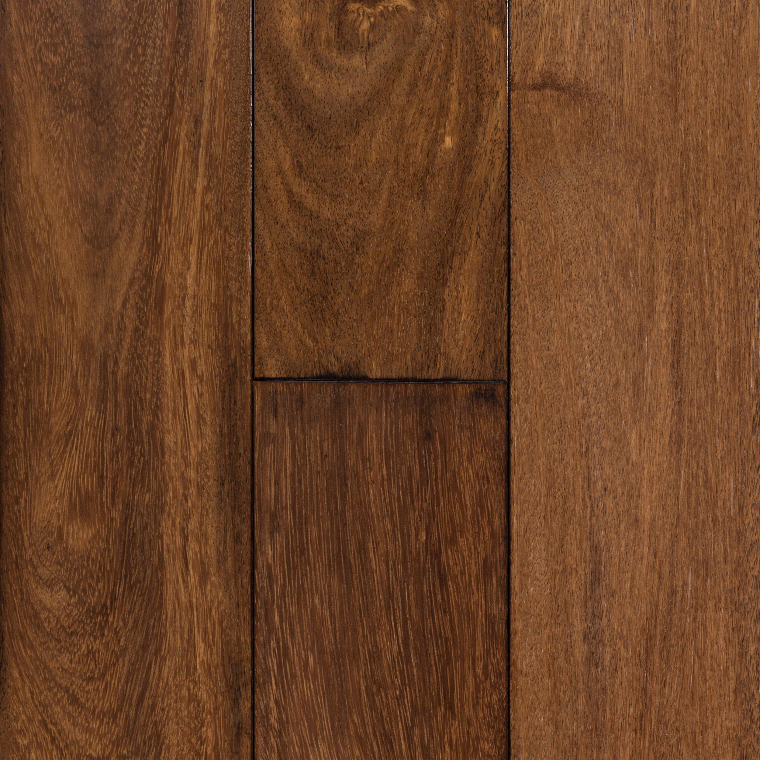 brazilian chestnut hand scraped solid hardwood - Hand Scraped Hardwood