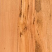 Natural Brazilian Tigerwood Smooth Solid Hardwood