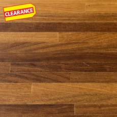 Clearance! Brazilian Teak Butcher Block Island 6ft.