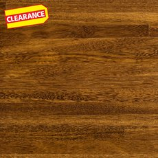 Clearance! Brazilian Chestnut Butcher Block Countertop 8ft.