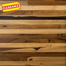 Clearance! Brazilian Pecan Butcher Block Countertop 12ft.