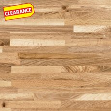 Clearance! Brazilian Oak Butcher Block Countertop 8ft.