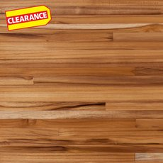 Clearance! Plantation Teak Butcher Block Island 6ft.