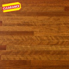 Clearance! Brazilian Cherry Butcher Block Countertop 12ft.