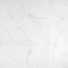Carrara Matte Gray Porcelain Tile