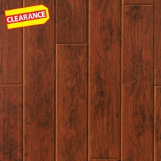 Clearance! Ashland Hickory Hand Scraped Laminate