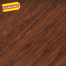 Clearance! Dakota Walnut Hand Scraped Luxury Vinyl Plank
