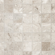 Tarsus Almond Polished Porcelain Mosaic